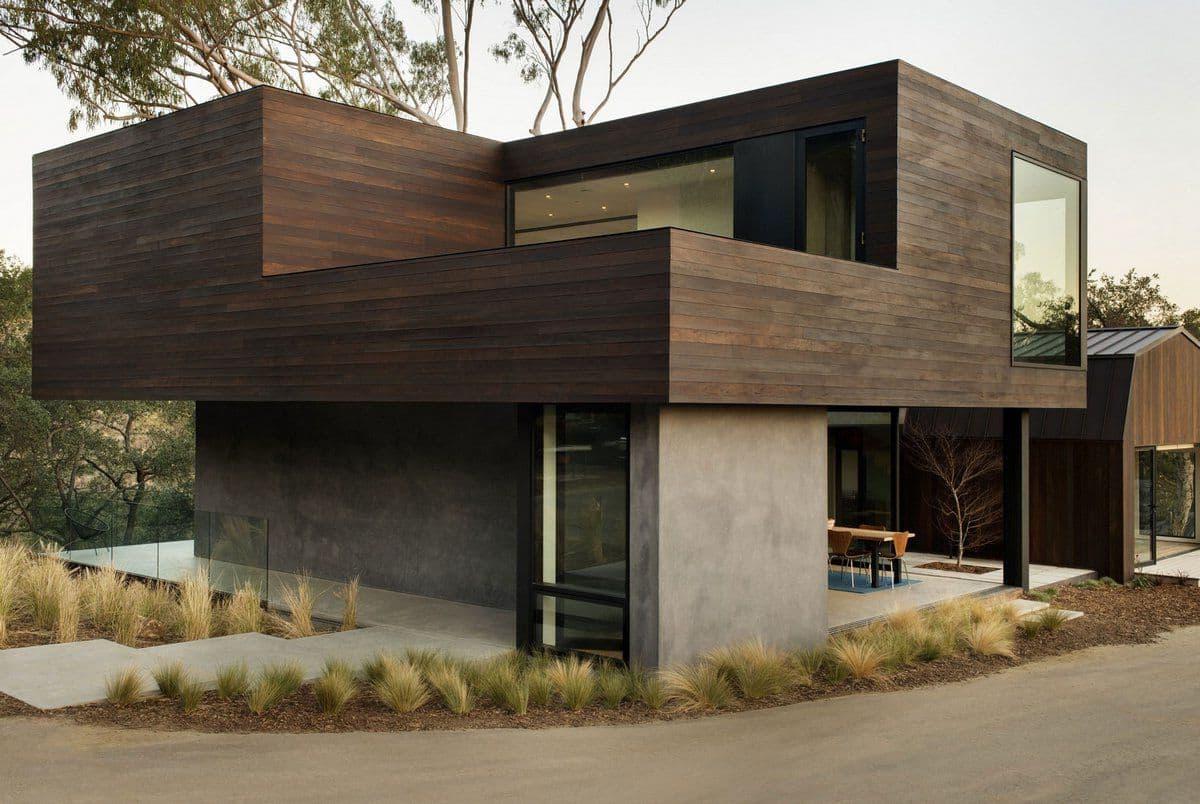 Дома с плоской крышей - 130 фото стильных типовых решений и готовых идей оформления
