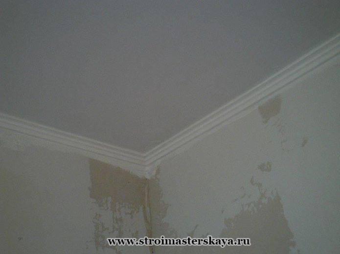 Как красить потолок чтобы краска не капала?