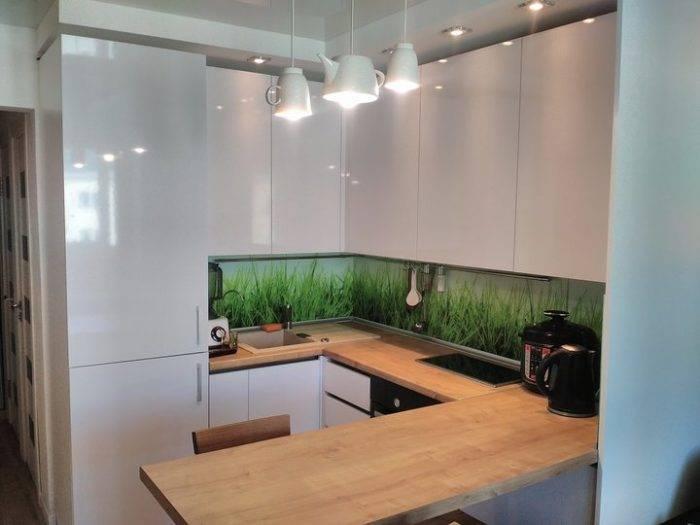 Угловые кухни для маленькой кухни: планировка и дизайн, фото примеры