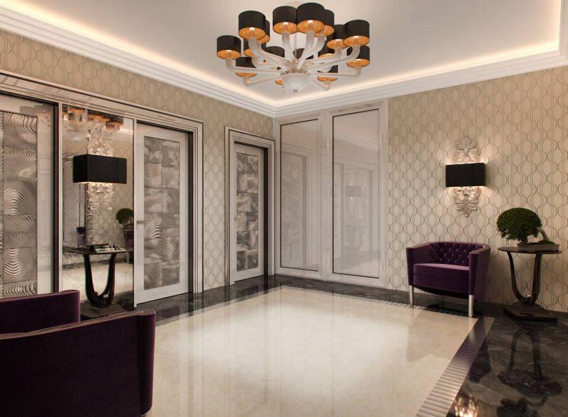 Дизайн спальни в стиле арт-деко, фото – rehouz