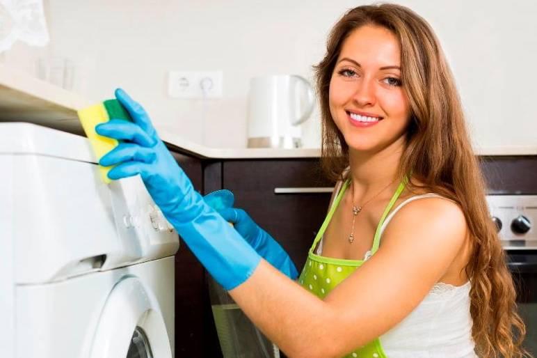 Как правильно почистить стиральную машину от мусора, плесени и неприятного запаха