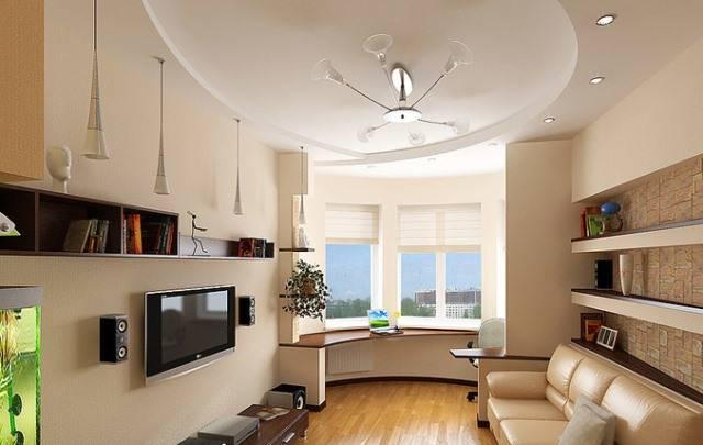 Дизайн гостиной с эркером (55 фото): оформление интерьера комнаты с эркерным окном, как обустроить гостиную площадью 35 кв. м