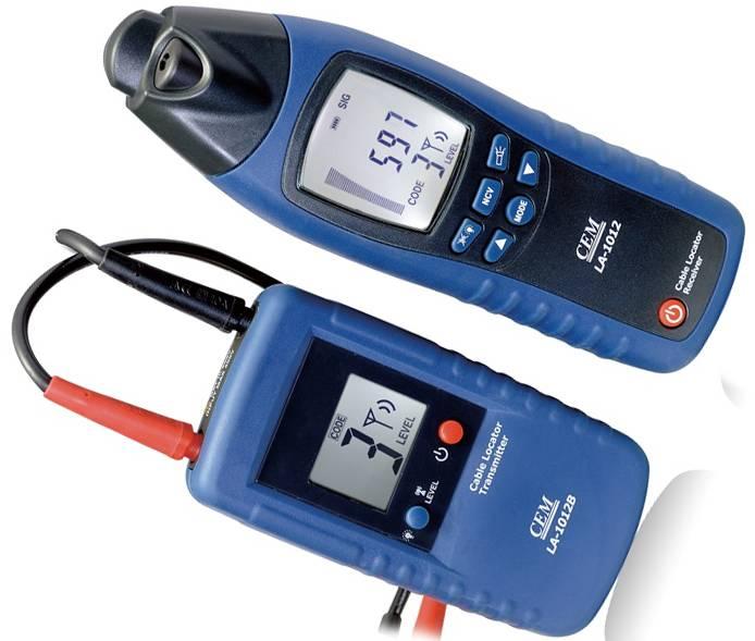 Детектор для поиска и обнаружения скрытой проводки в стене с различными индикаторами