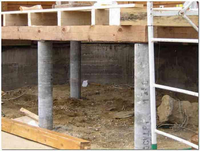 Фундамент из асбестовых труб - всё о строительстве