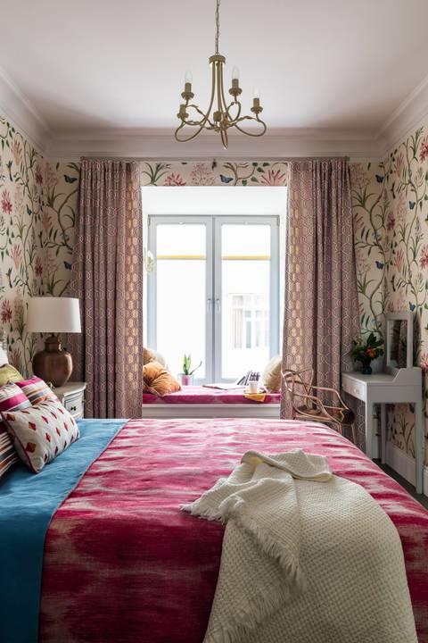 Как выбрать обои в спальню: секреты ремонта квартиры