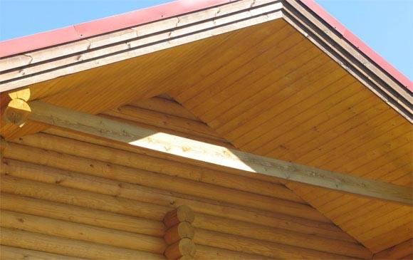 Подшивка крыши: обшивка крыши дома, отделка карнизов своими руками, чем подшить снизу свес кровли, софит, вагонка, профнастил
