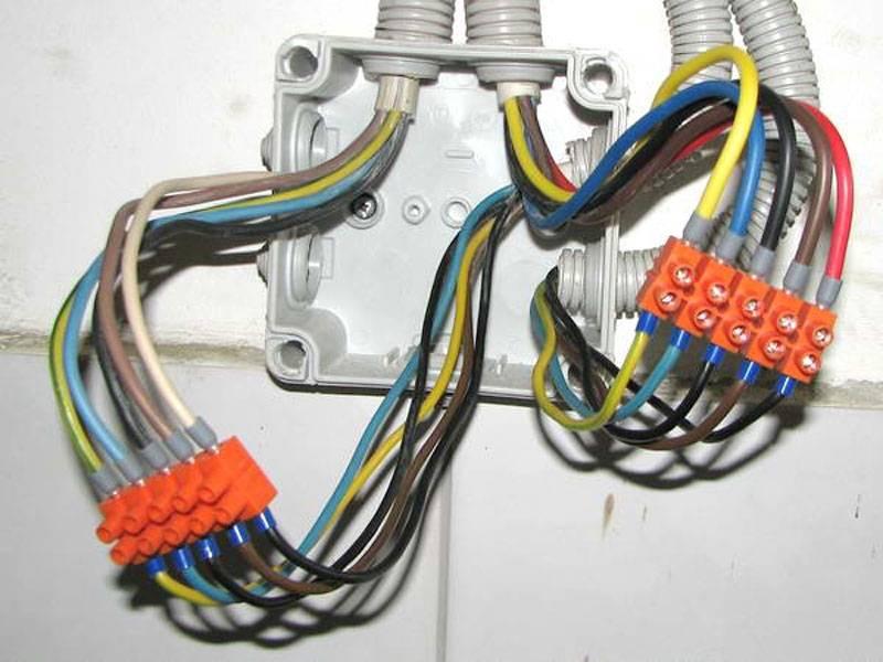 Самые лучшие способы соединения проводов в распределительной коробке | блог виктора потапова