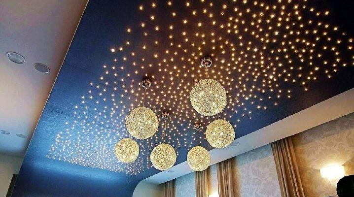 Плюсы и минусы акриловых потолков с подсветкой