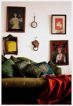 Этнический стиль в интерьере современной квартиры