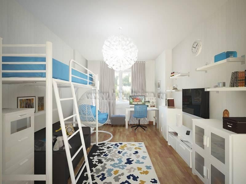 Планировка двухкомнатных квартир в домашних условиях