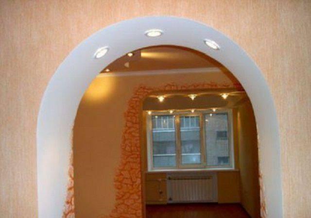 Как сделать арку из гипсокартона? 55 фото межкомнатная арка в дверном проеме своими руками, как согнуть гипсокартон