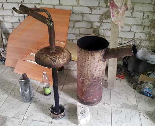 Как изготовить печку буржуйку своими руками
