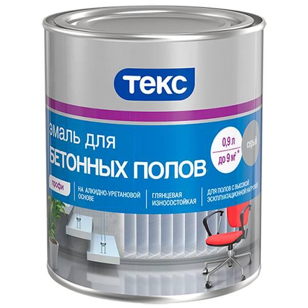 Эмаль для бетонных полов: виды применяемых покрытий, обзор продукции крупнейших производителей
