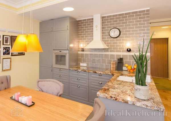 Особенности кухни без верхних шкафов