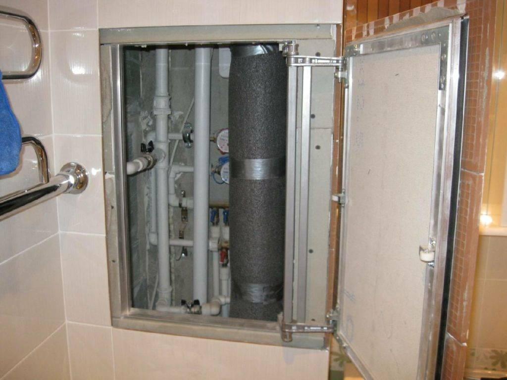 Дверца для шкафа в туалете - все о канализации