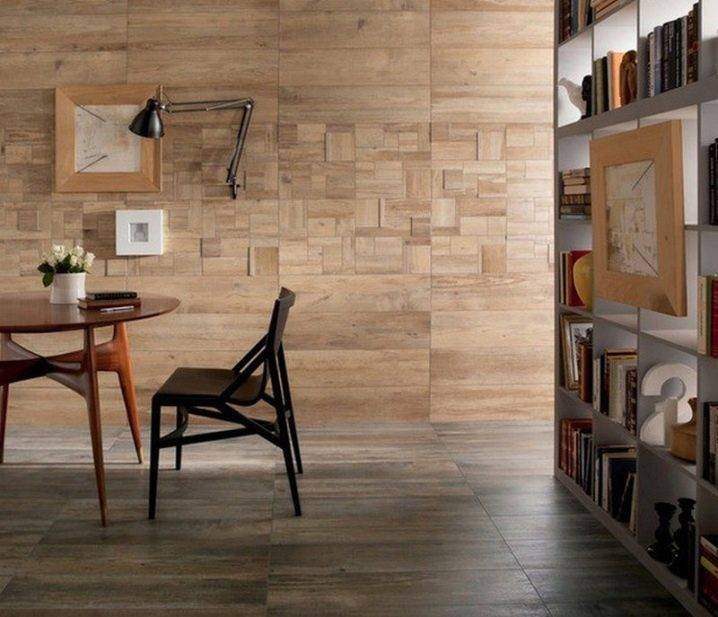 Плитка под дерево для кухни на пол, фартук и стены - особенности и выбор