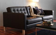 Кожаный диван в интерьере — качественная, удобная и практичная мебель с красивым дизайном + 90 фото