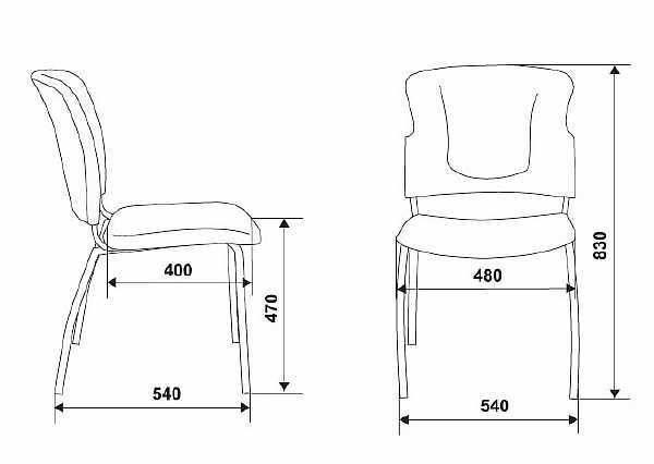 Высота стула: стандартные размеры для обычного сиденья, как рассчитать стандарт значения и увеличить по отношению к столу, высотой 90 см
