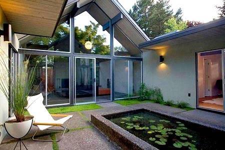 Двор частного дома | 111+ фото свежих идей