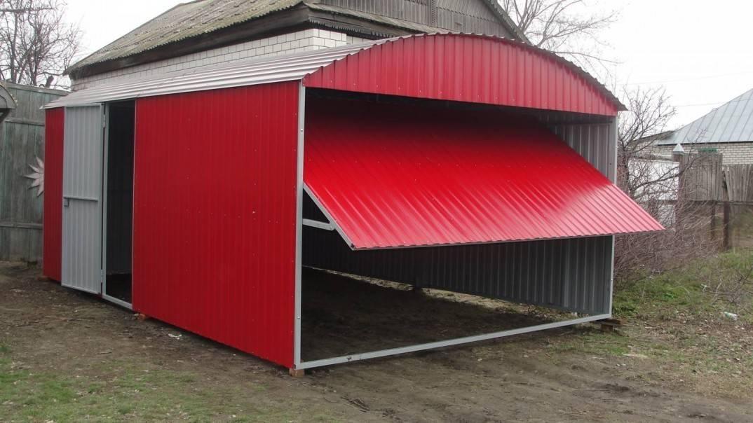 Односкатная крыша из профнастила: пошаговый мастер-класс по строительству
