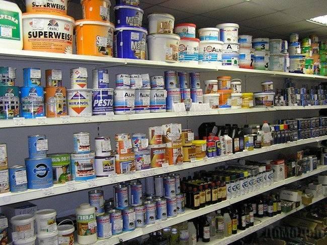 Выбор лакокрасочных материалов для покраски гаража