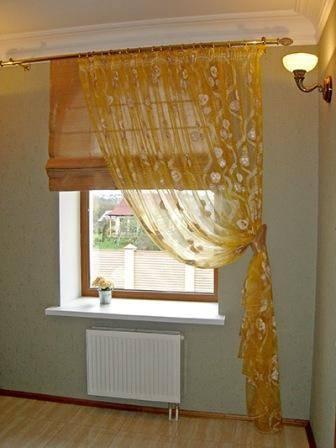 Римские шторы на окнах пвх. особенности крепления