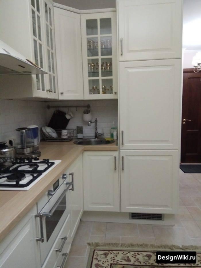 Кухня с темной столешницей в зависимости от цвета (96 +фото)