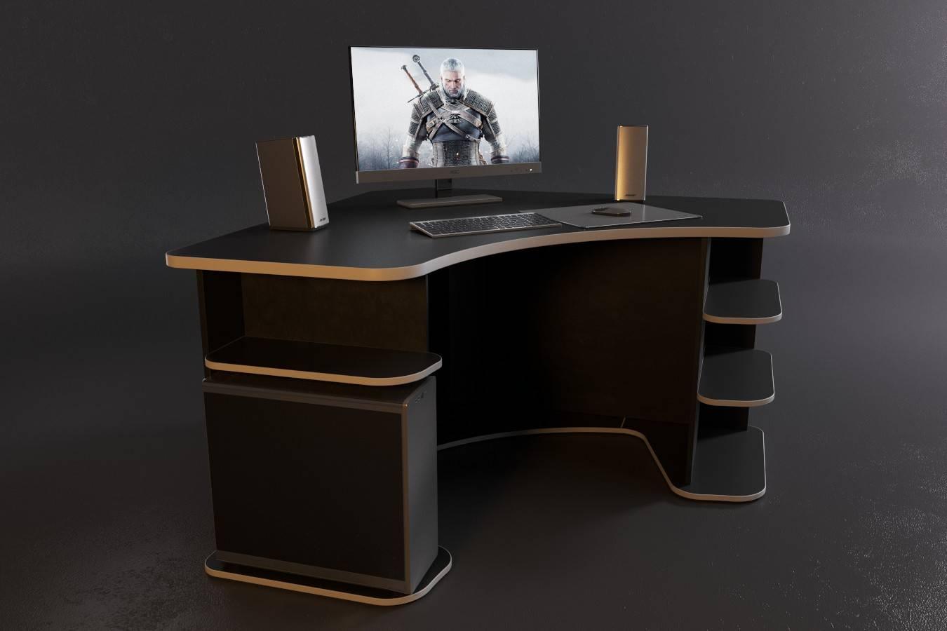 Игровые столы для пк: лучшие геймерские столы