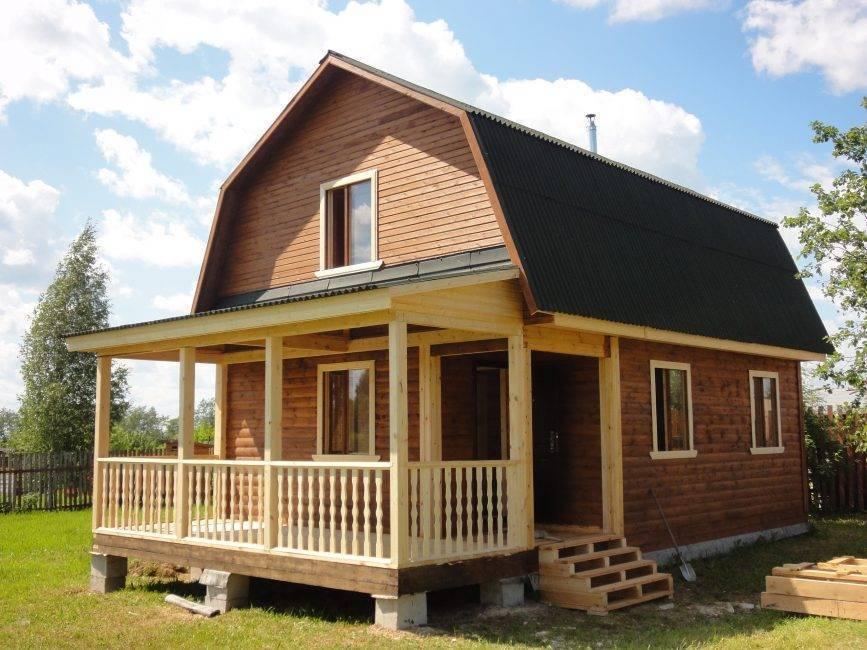 Одноэтажные дачные дома: проекты, плюсы и минусы