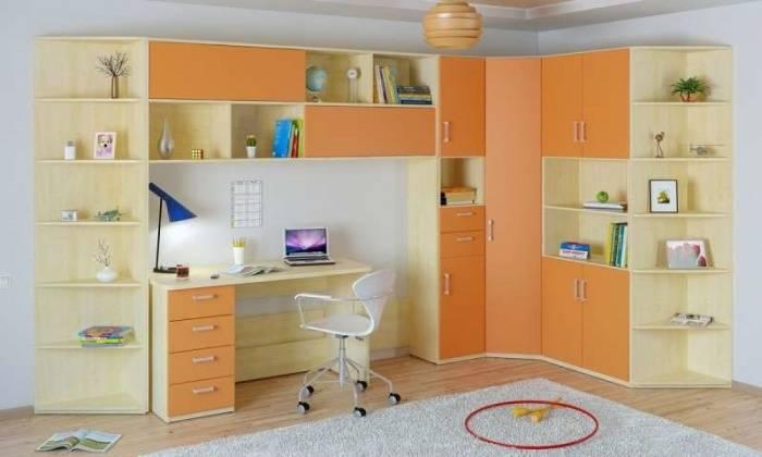 Угловой шкаф в детскую: как разместить шкаф для ребенка - smallinterior
