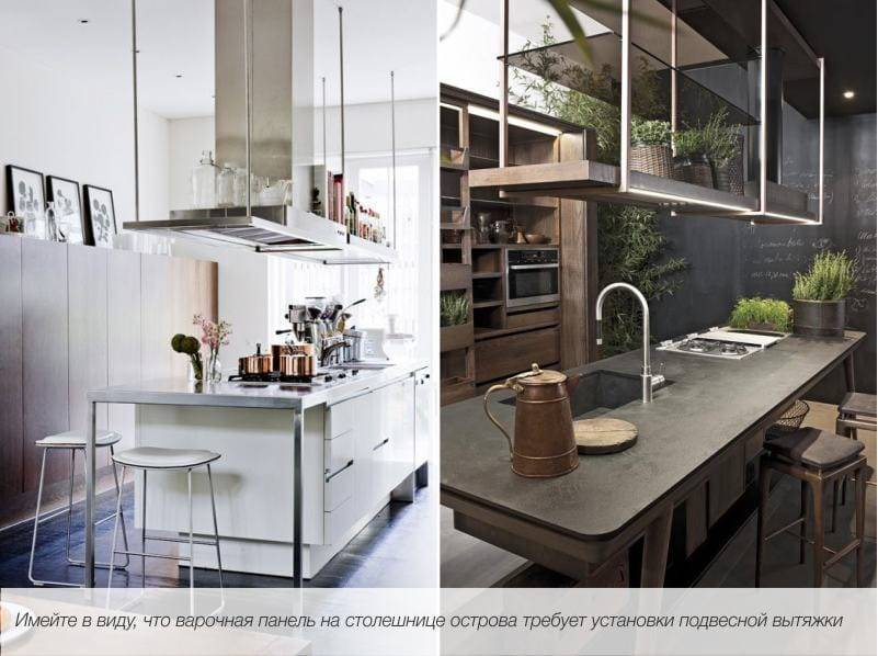 Кухня с островом – все особенности планирования и дизайна
