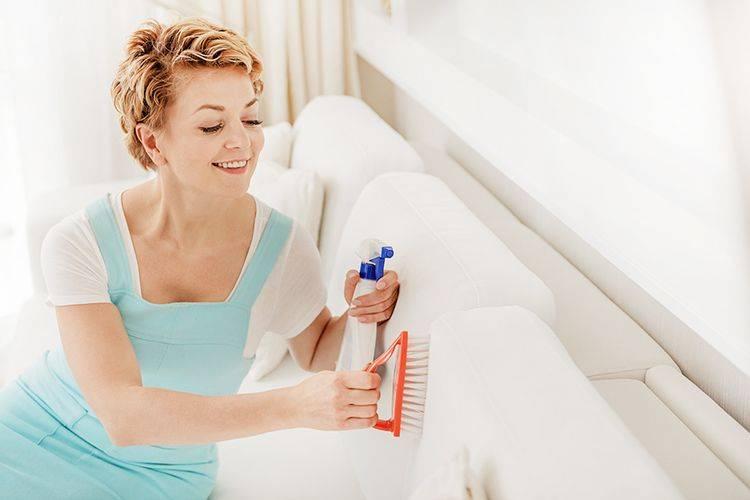 Средства для чистки диванов в домашних условиях: народные средства. чем помыть диван из ткани от грязи? как отстирать подлокотники и обивку?