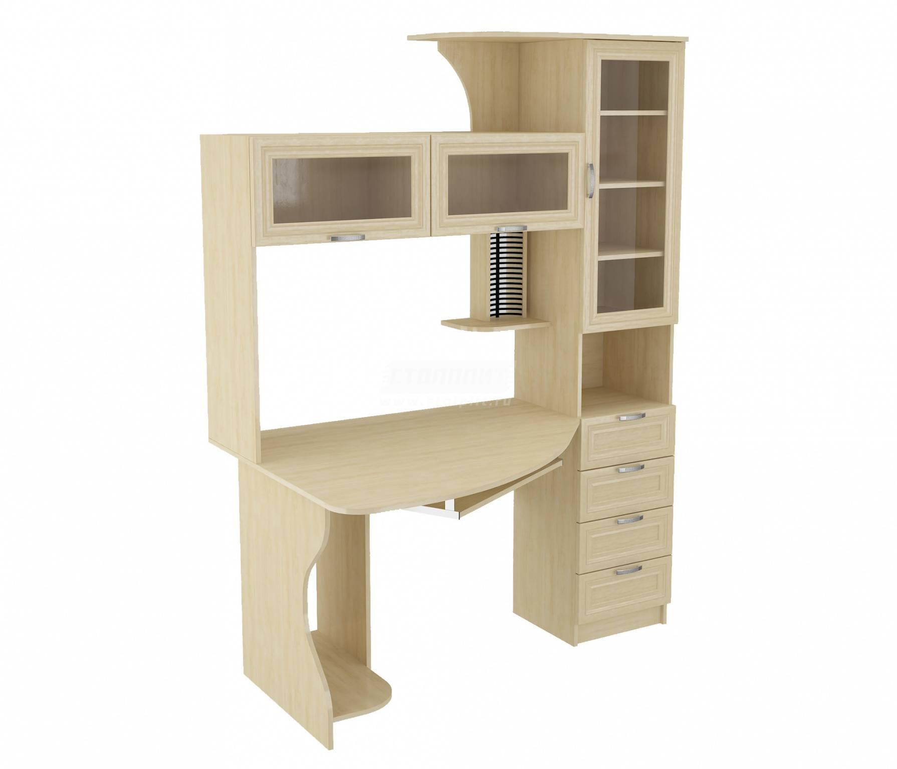 Уголок школьника со шкафом для одежды (32 фото): детская мебель-трансформер с откидным письменным столом и книжной полкой для учебников и книг