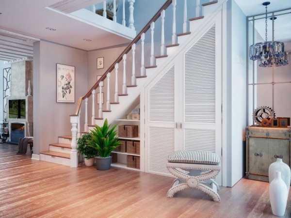 Пространство под лестницей: 100 фото красивых и практичных идей