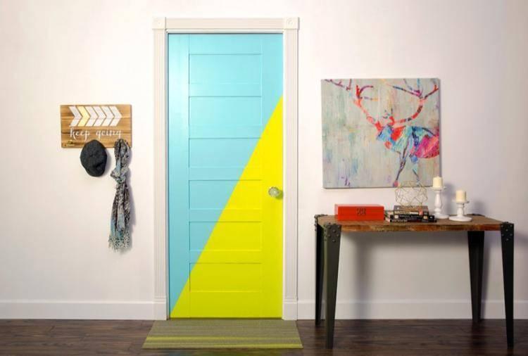 Обновление старых дверей своими руками: прекрасный способ отделки