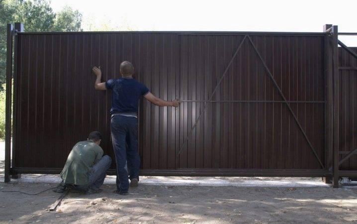 Изготовление гаражных ворот своими руками