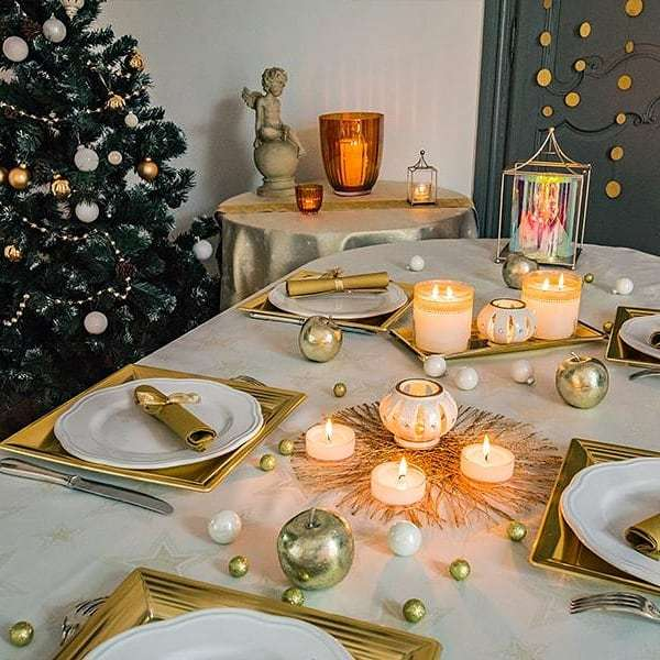 50 интересных идей для сервировки праздничного стола на Новый год –