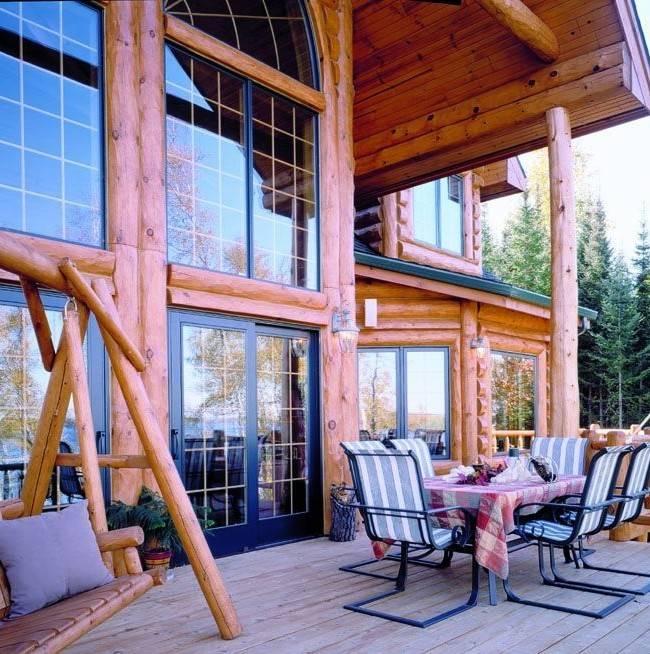 Красивые окна в деревянном доме — лучшие идеи дизайна, советы по выбору материалов и варианты установки
