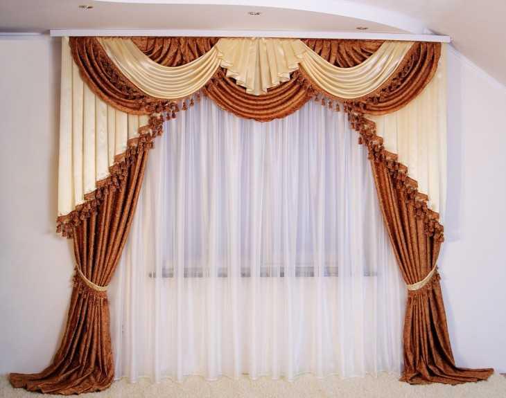 Декор штор – лучшие идеи применения и рекомендации по их реализации своими руками (95 фото)