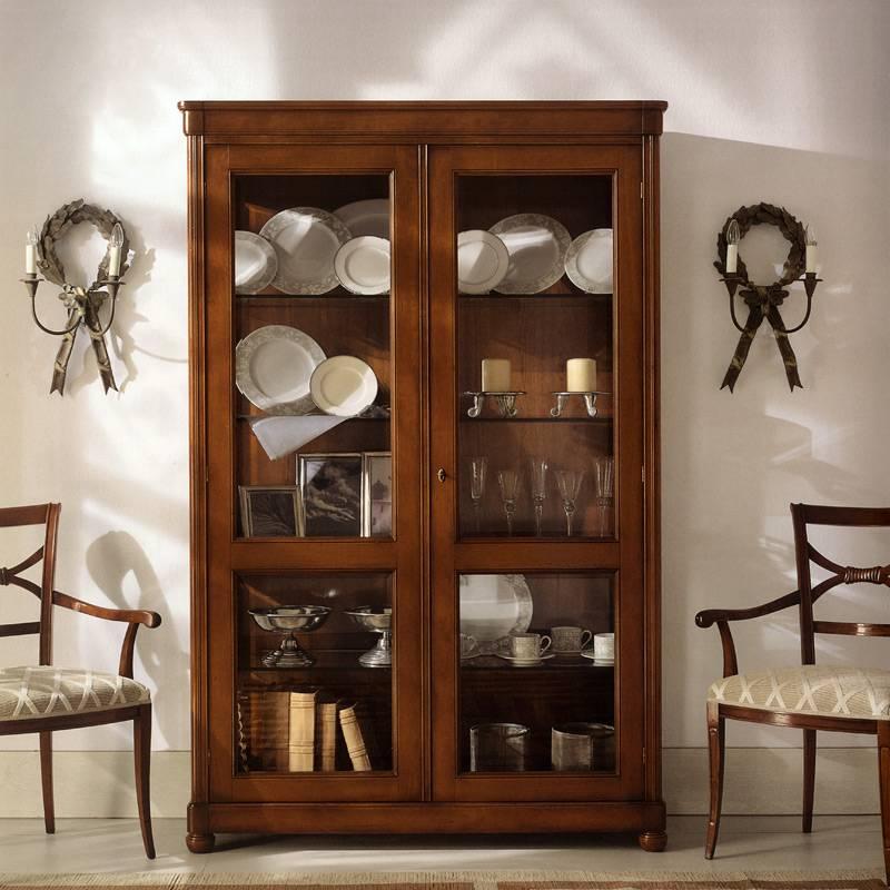 Сервант для посуды в гостиную: стильный и комфортный элемент интерьера