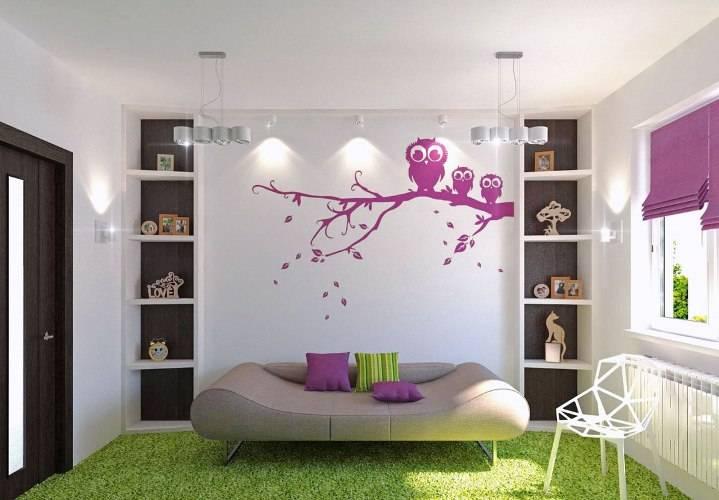 Декор стен своими руками: оригинальные идеи, фото и примеры