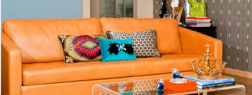Кожаный диван – лучшие современные модели и варианты их использования (145 фото)