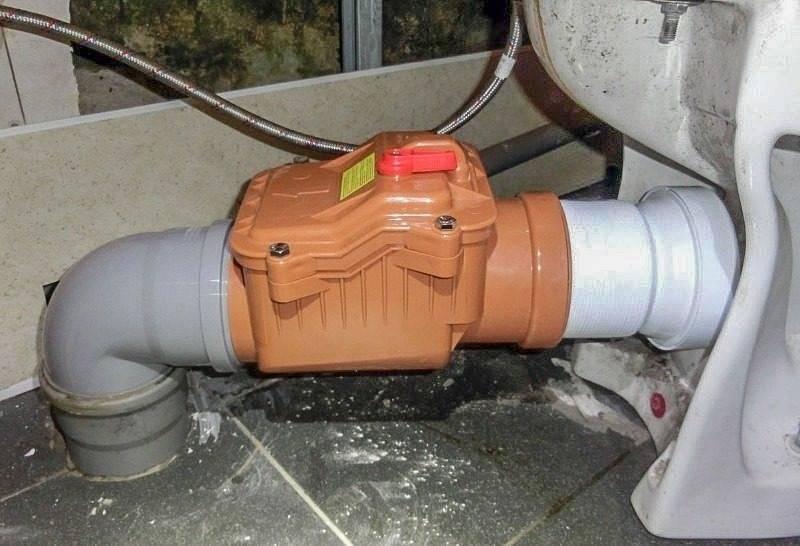 Как установить обратный клапан на канализацию - все о септиках