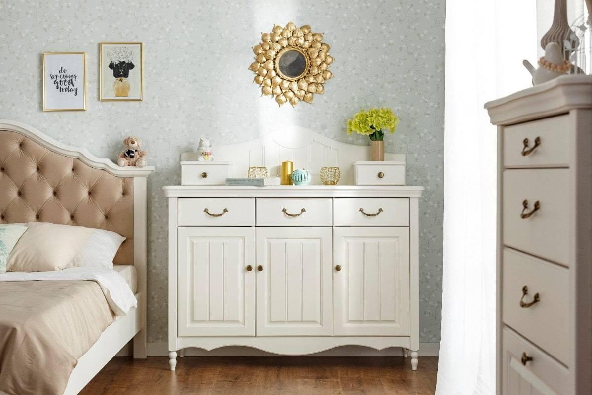 Красивые комоды для спальни: какие бывают, как правильно выбрать и где поставить