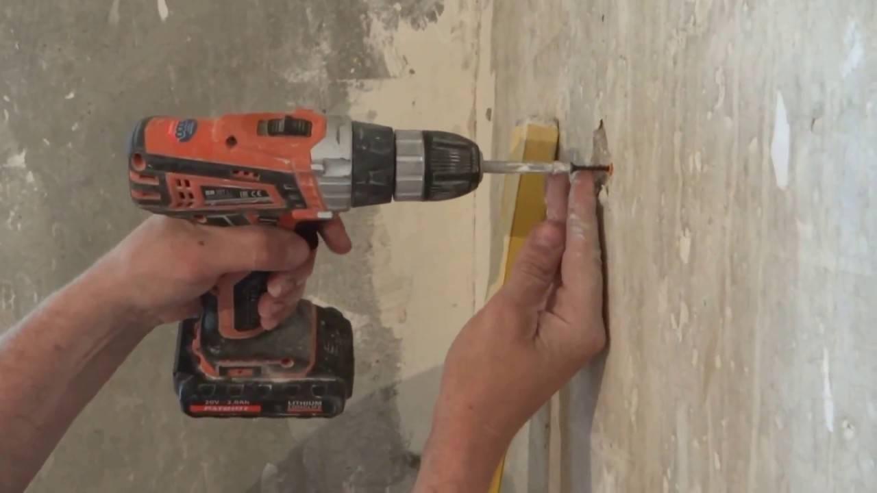 Штукатурка стен без маяков своими руками: способы и последовательность работ