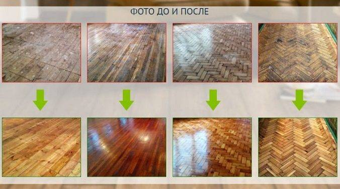 Циклевка паркетной доски: реставрация и шлифовка пола без разбора во время ремонта в квартире, что делать  и как устранить, если скрипит покрытие.