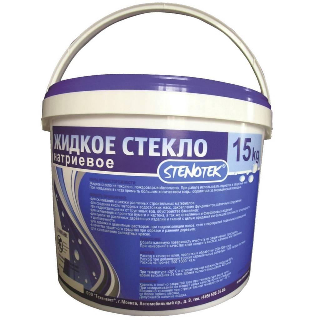 Сколько жидкого стекла нужно добавлять в цементный раствор?