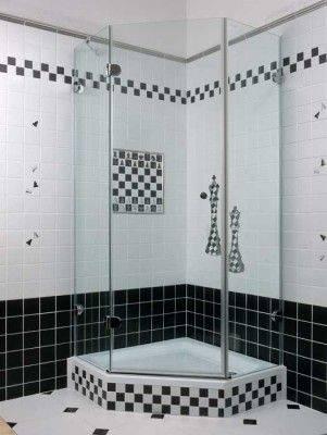 Душевая кабина в маленькой ванной комнате: фото, подбор, размещение, идеи