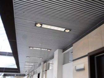 Подвесной потолок в виде конструкции грильято: описание, преимущества, монтаж своими руками