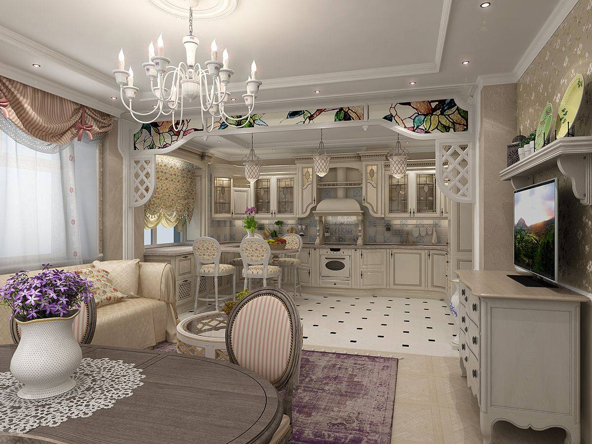 Стиль прованс в интерьере (100 фото) - идеи дизайна комнат, главные особенности